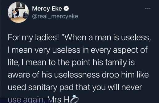 Big Brother Naija couple Mercy Eke and Ike throw shades