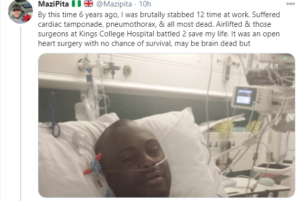 Nigerian man narrates how he survived being