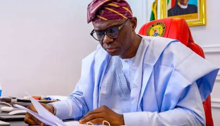 Governor Sanwo-Olu signs executive order to rebuild Lagos