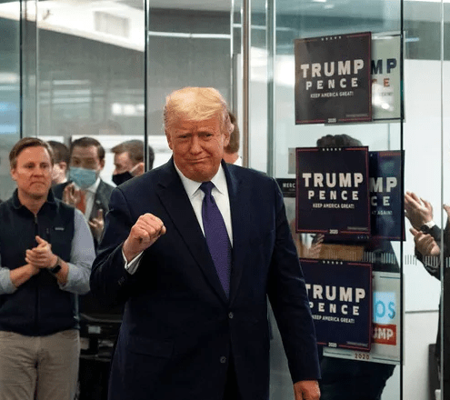 Trump campaign files suit to stop vote counting in Michigan