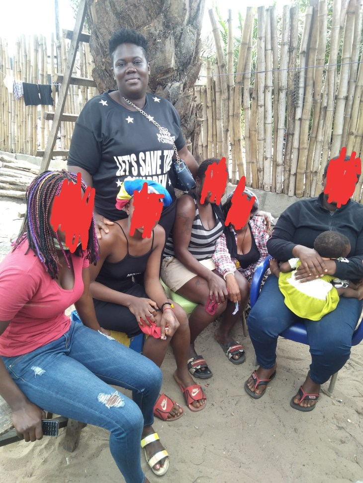 """""""They make 5000 from sleeping with 5 -7 men daily"""" - Woman shares her encounter with young sex workers in Lagos"""