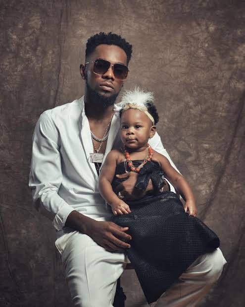 Patoranking shares adorable photos of his daughter, Wilmer