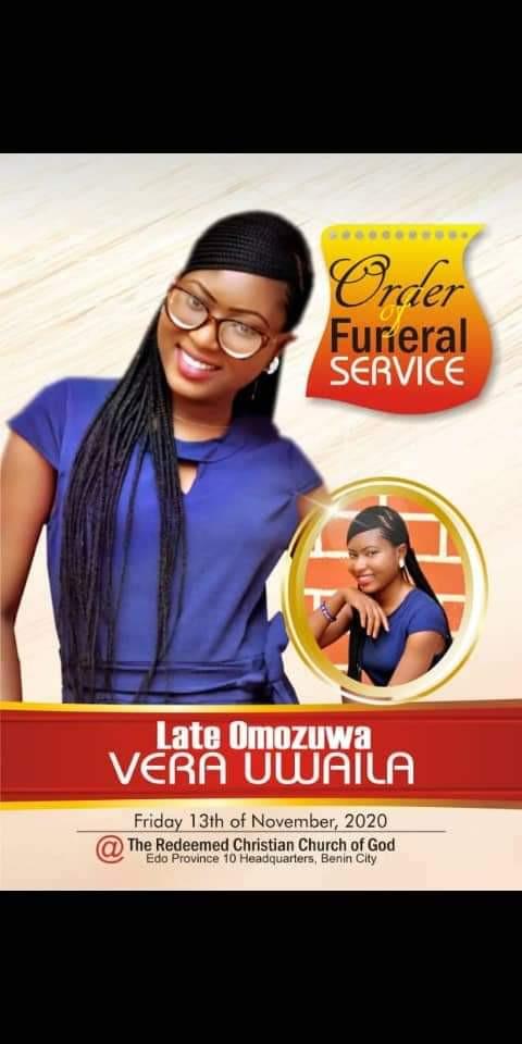 Tears as Vera Uwaila Omozuwa is laid to rest (photos/videos)