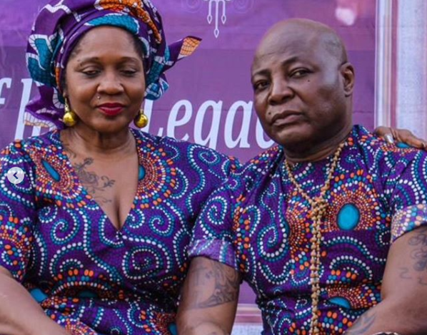 I realized we have become a role model couple for Institution of marriage - Charly Boy explains why he publicly proposed to his wife for the 4th time in 45 years of marriage