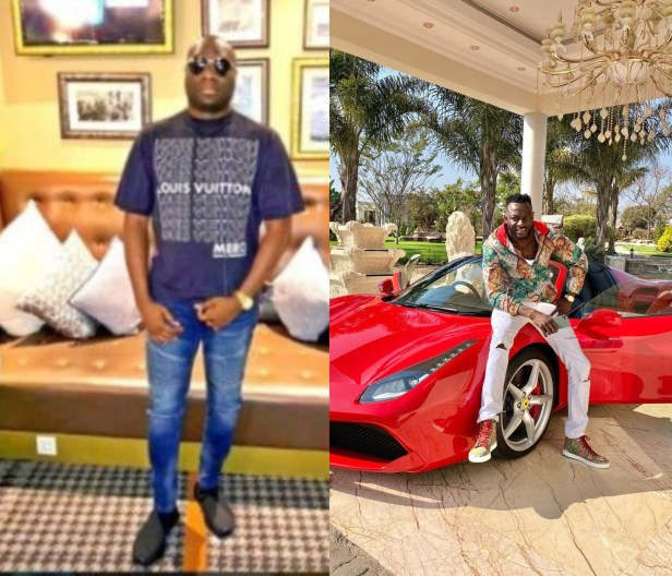 Africans with stupid mentality - Mompha reacts to comments that trailed report of Zimbabwean socialite, Ginimbi?s Ferrari overheating (video)