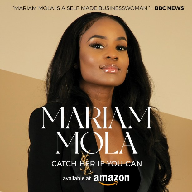 Pastor and Enterpreneur, Mariam Mola, recently accused of fraud in the UK has shared her remarkable story in her new book,