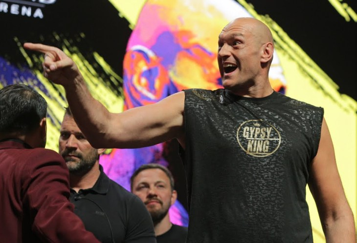Tyson Fury abandons plans to fight in December, a week after snubbing Deontay Wilder