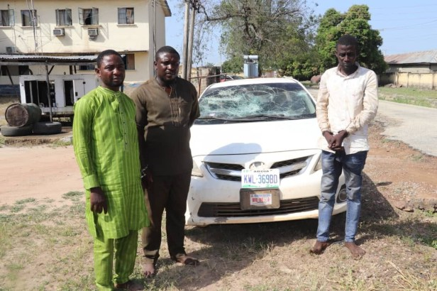 Niger State Police arrest three suspected fraudsters who specialize in duping people through
