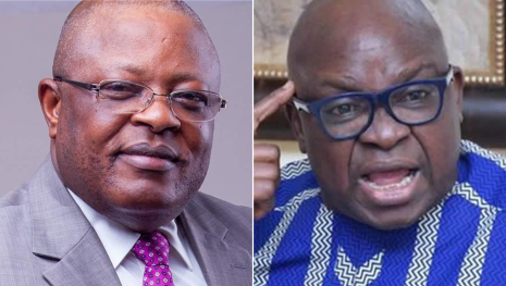 He defected to APC long ago before this unjustifiable move - Fayose reacts to Governor Umahi
