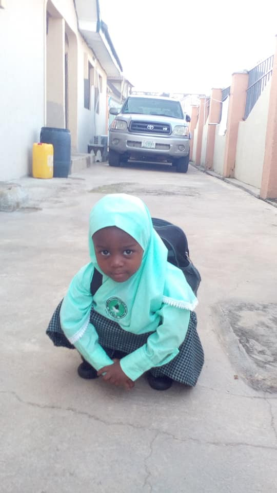 """""""I pray to Allah to guide and protect you wherever you are"""" - Nigerian man pens heartbreaking post on 4th anniversary of his daughter"""