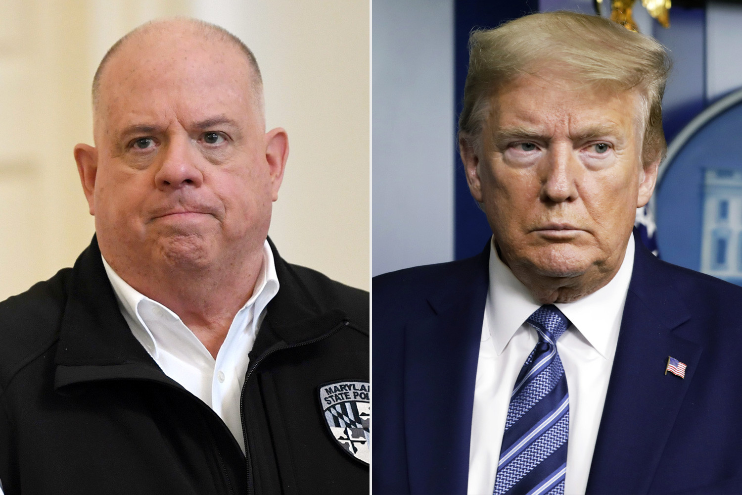 What Trump is doing is outrageous and an assault on our democracy - Maryland Governor Larry Hogan (video)