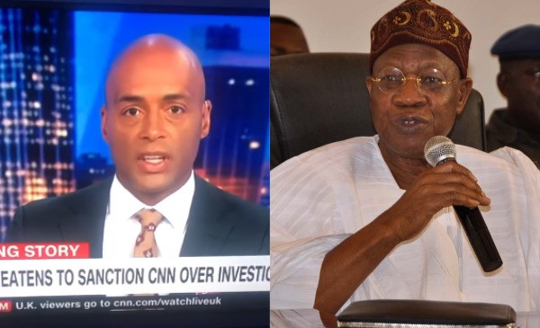 Lai Mohammed did not provide any evidence to back his accusation - Nigerian Minister of Information and Culture called out again by CNN  (video)