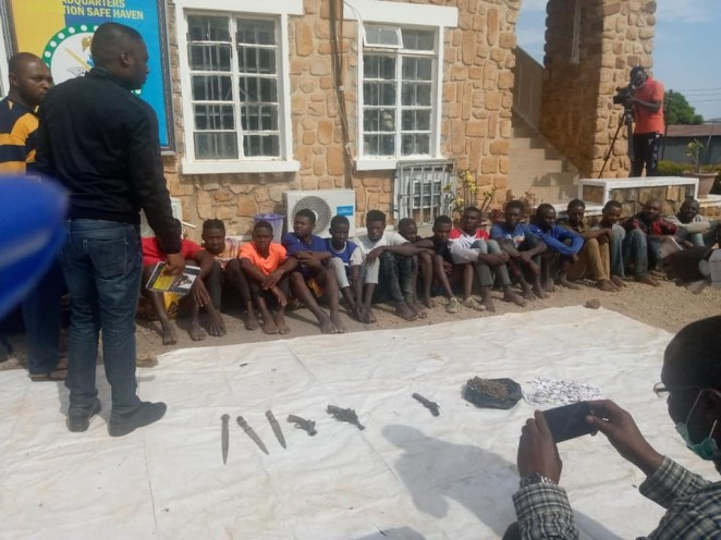 27 suspected cultists including 6 females arrested as Army raids criminal hideouts in Plateau State