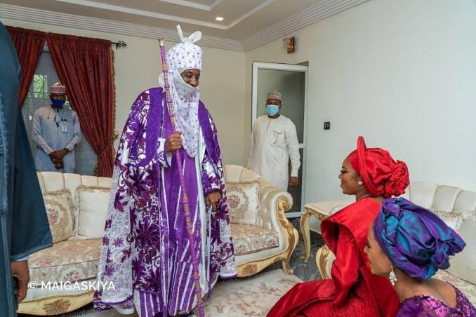 Photos from the wedding fatiha of Bashir El-Rufai, son of Kaduna state governor