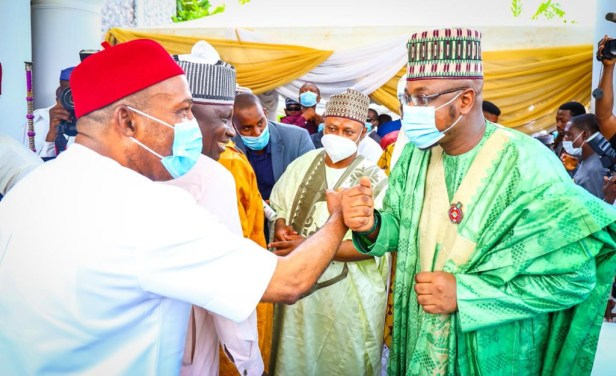 Photos from the wedding fatiha of Bashir El-Rufai, son of Kaduna state governor
