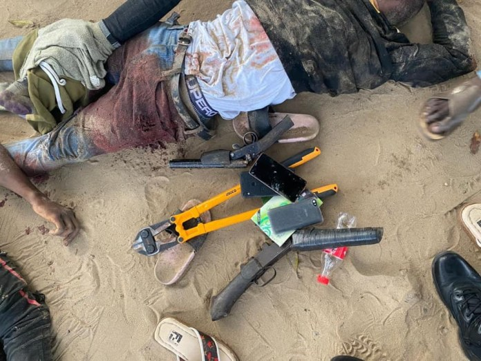 Soldiers gun down four suspected armed robbers in Delta