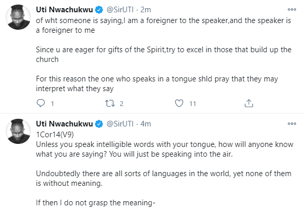 Speaking in tongues has been abused so much in the Christian community because it
