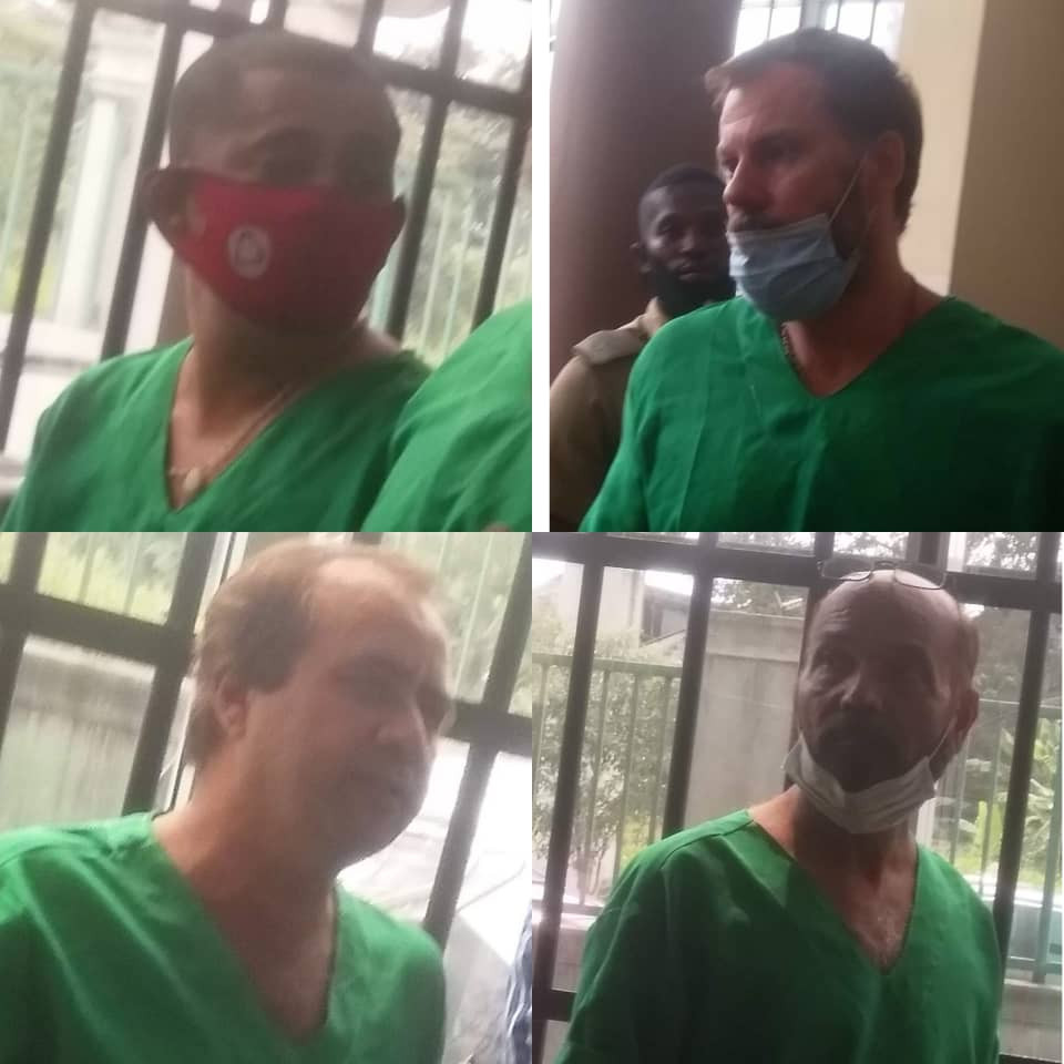 Six foreigners and a Nigerian bag seven years jail term for oil theft (photos)