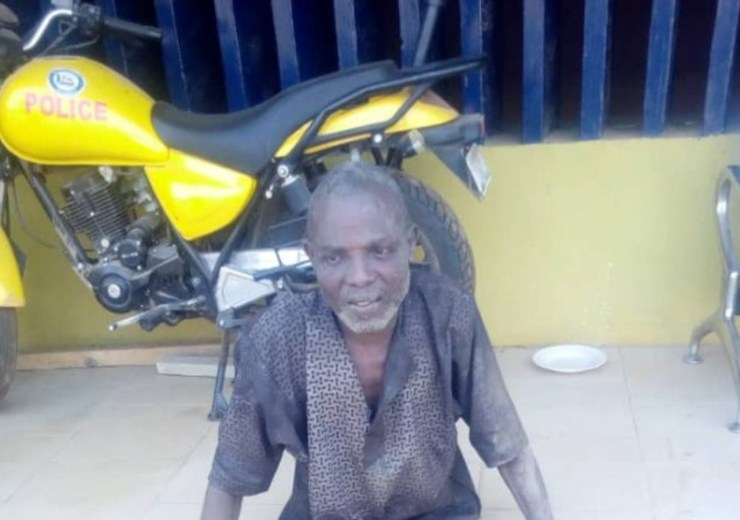 55-year-old man arrested with 4 human skulls, hands and jaws in Ogun