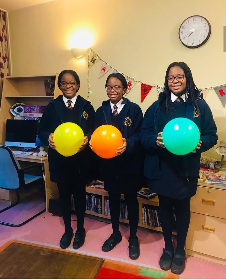 Tony Elumelu celebrates his triplet daughters as they turn 14