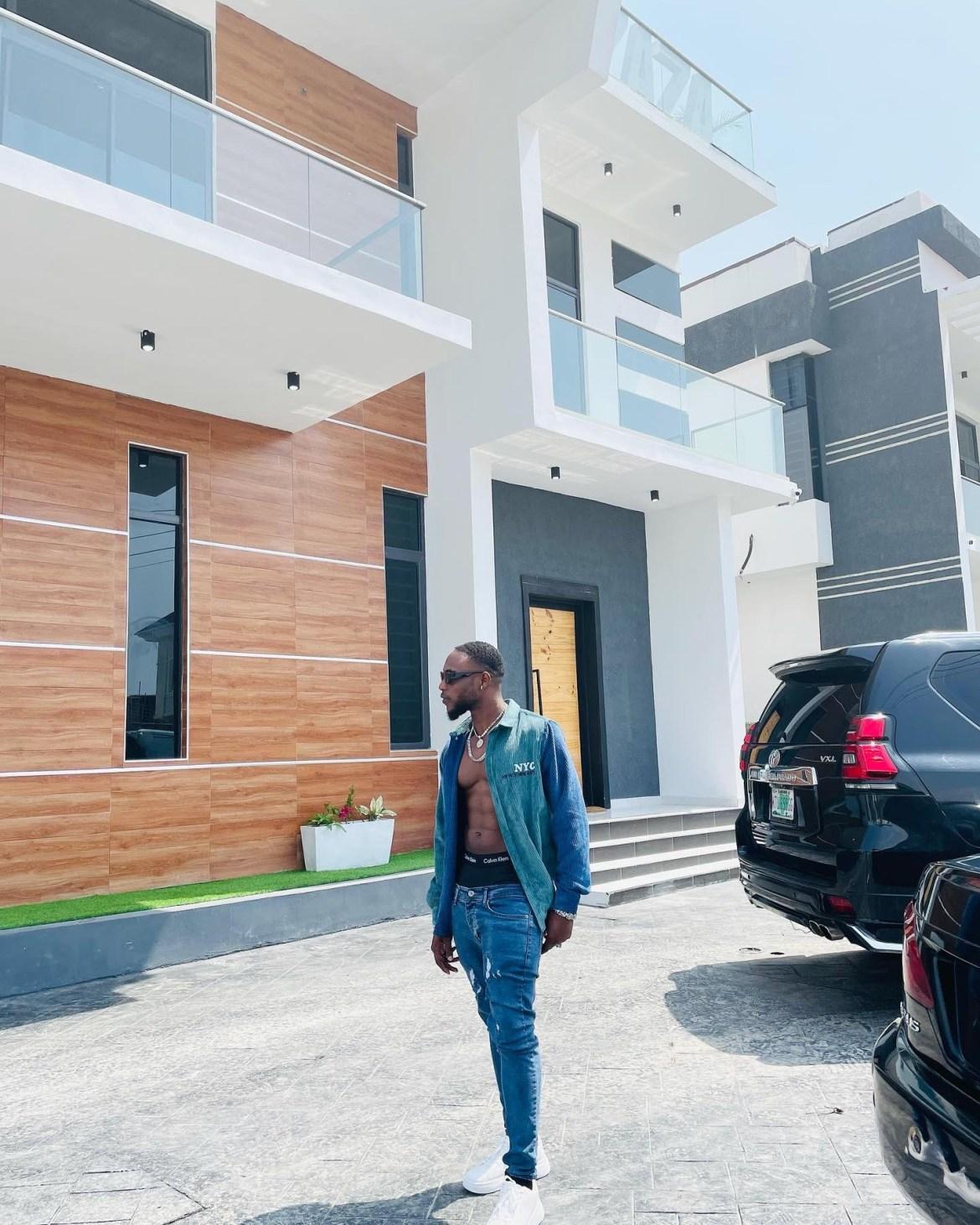 Singer L.A.X acquires a new Mansion., JotNaija