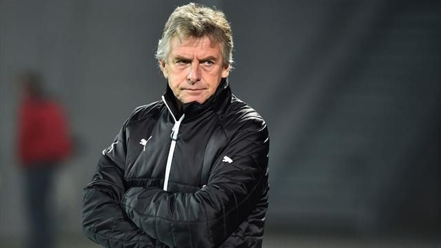 Christian Gourcuff sacked by Nantes after a run of poor results