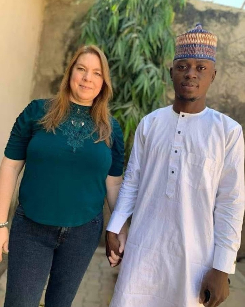 Nigerian man, 23, to wed his older Caucasian lover, 46, in Kano