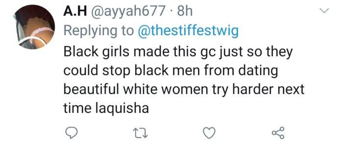 Private group chat of White women shaming and belittling Black men leaks