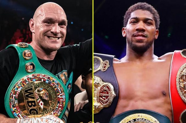 Anthony Joshua responds to Tyson Fury