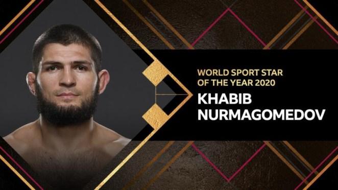 UFC icon, Khabib Nurmagomedov crowned as BBC World Sport Star of the Year ahead of LeBron James
