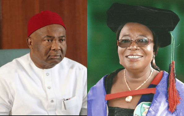 Governor Uzodinma sacks Vice-Chancellor of Imo State University, Prof. Adaobi Obasi; orders forensic audit of the school amid allegations of monumental corrupt practices