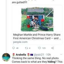 Meghan Markle and Prince Harry accused of hiding son Archie when they released their family Christmas card.