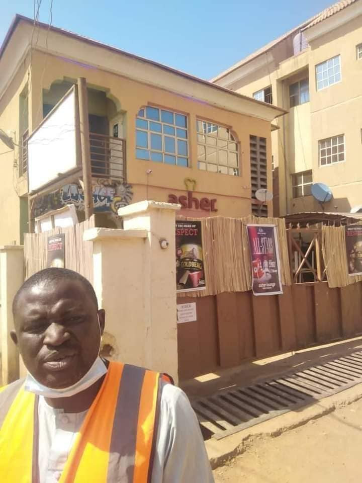 Update: Kaduna state government demolish building that would have been used to host a sex party (photos)
