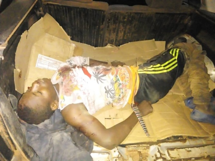 One killed as police foil armed robbery attack in Nasarawa (photos)