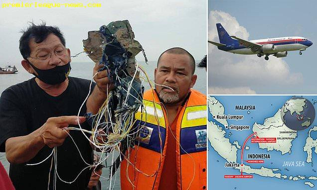 Indonesian passenger jet with 62 people on board goes missing after 'falling 10,000ft' following takeoff (photos)