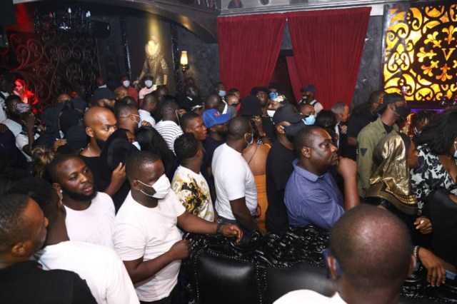 Lagos state police command raid more clubs in Surulere and Victoria Island for violating COVID19 protocols (photos/Video)