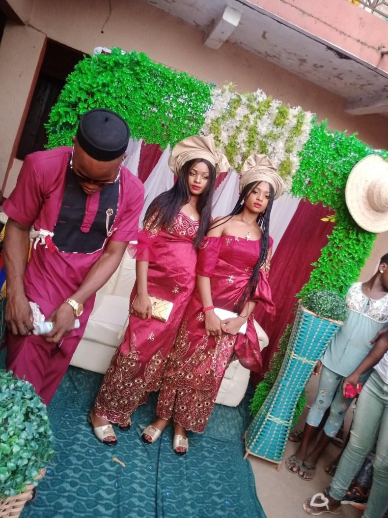 Nigerian man marries twins because