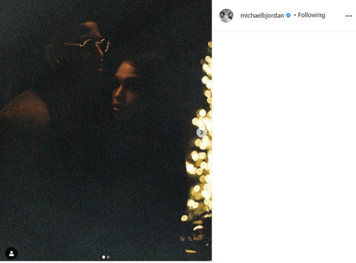 Michael B. Jordan and Lori Harvey confirm their relationship on Instagram with loved-up photos