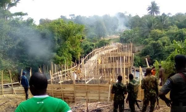 Ogun government to demolish secret bridge constructed by unknown persons in a forest in the state