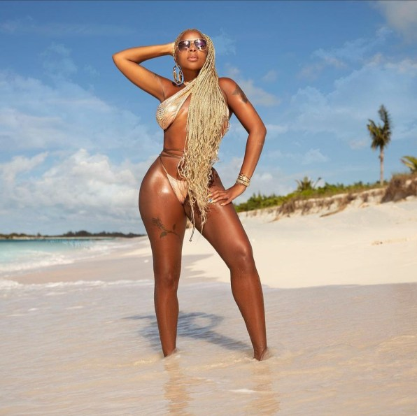 Mary J Blige shows off her banging body in new photos as she turns 50