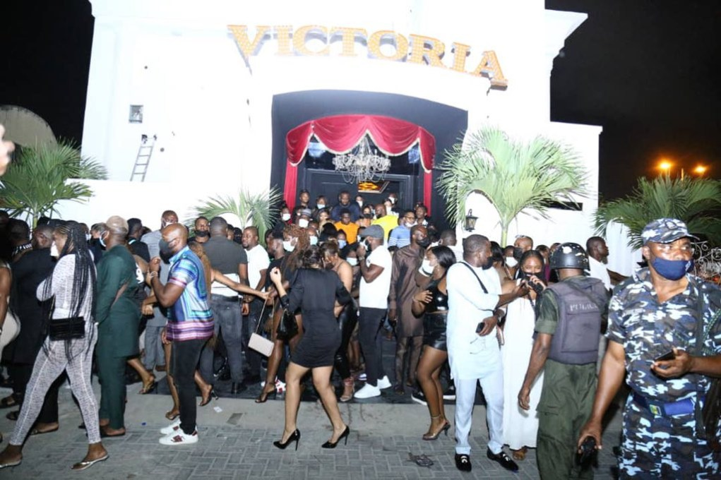 Lagos police arrests owner of Club Victoria, to arraign him in court
