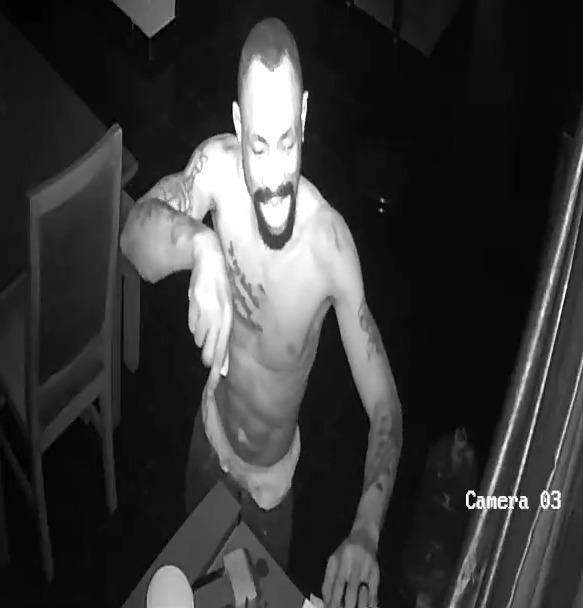 CCTV footage captures face of suspected thief who raided a House in Lekki