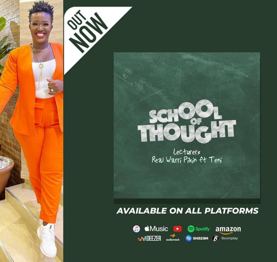 Comedienne, Real Warri Pikin releases debut single, School of Thought ft Teni