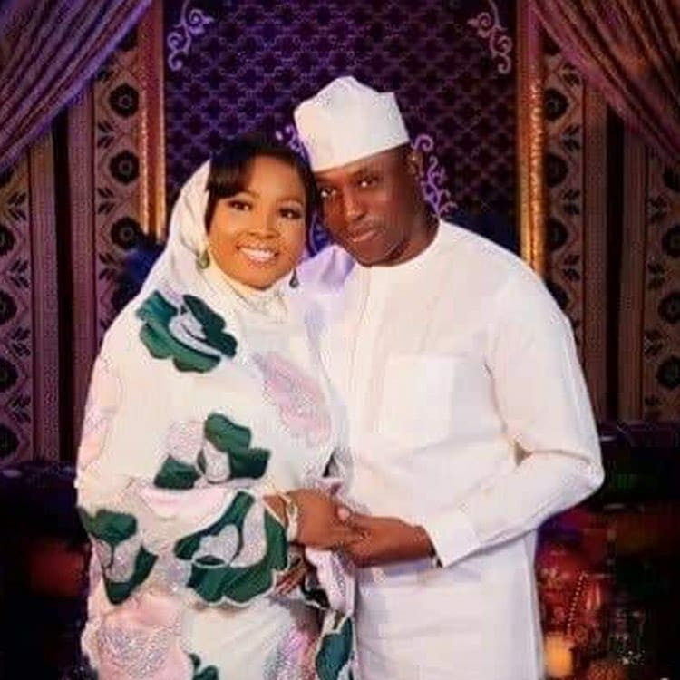 Photos from the wedding of ex-Speaker Dimeji Bankole to Kebbi state governor
