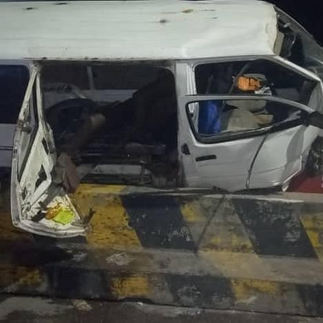Seven passengers injured in ghastly motor accident on Third Mainland Bridge