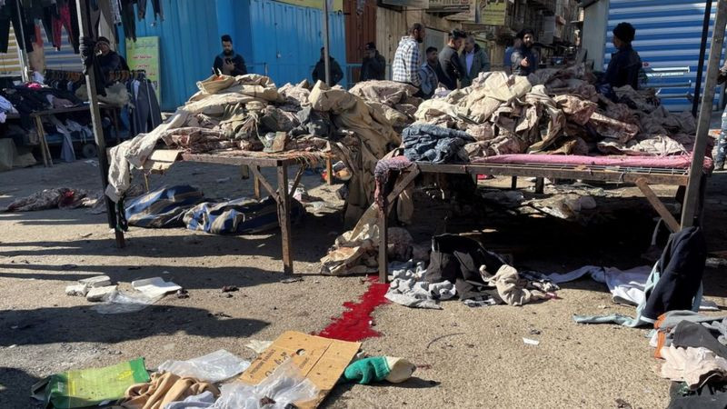 Suicide bombing in Iraq kills six and injures over 20 people (Photos)