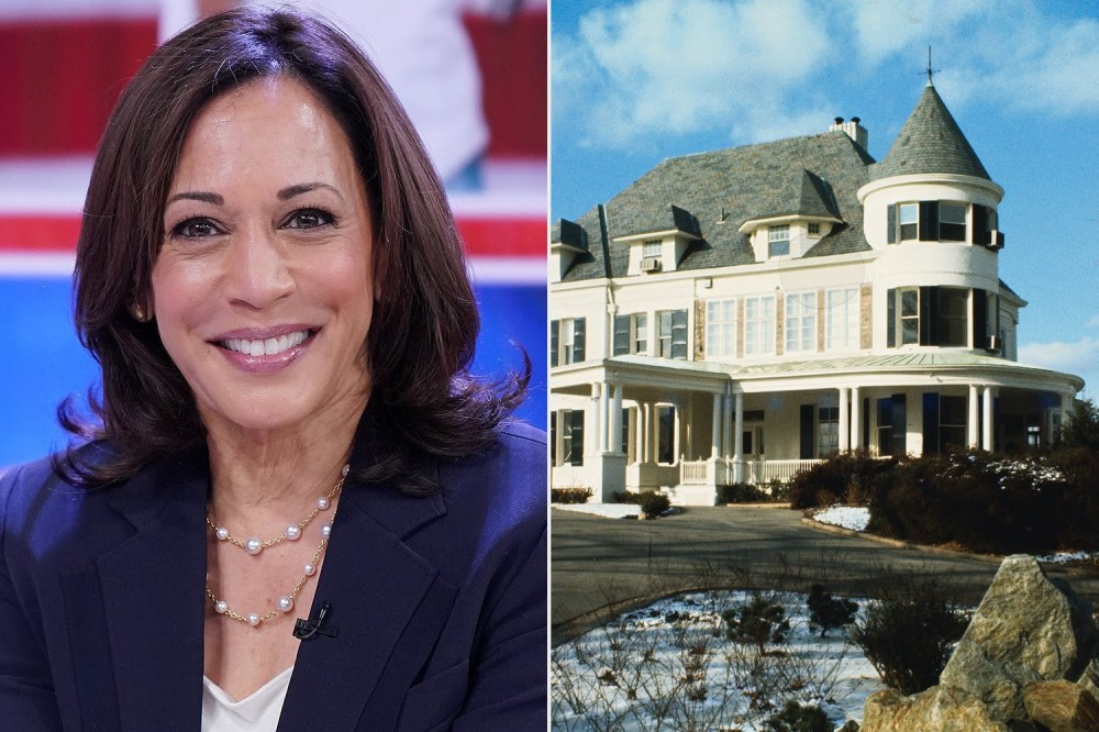 See the house Kamal Harris will live in as US vice president (photos)