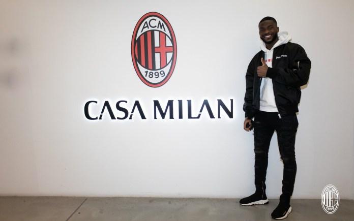 ?Fikayo Tomori joins AC Milan on loan from Chelsea (photos)