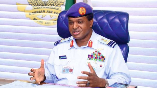 Boko Haram and bandits have been largely curtailed -  Chief of Air Staff, Sadique Abubakar