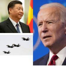 China flies about 28 warplanes close to Taiwan in early test of Biden's foreign policy